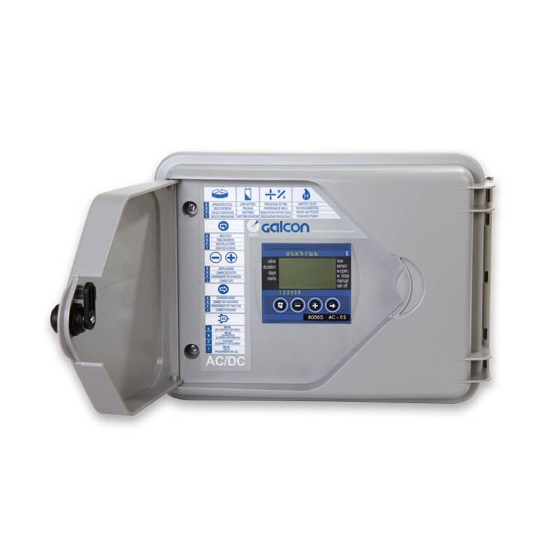 Controlador Galcon 6 estações AC-6S Super Box