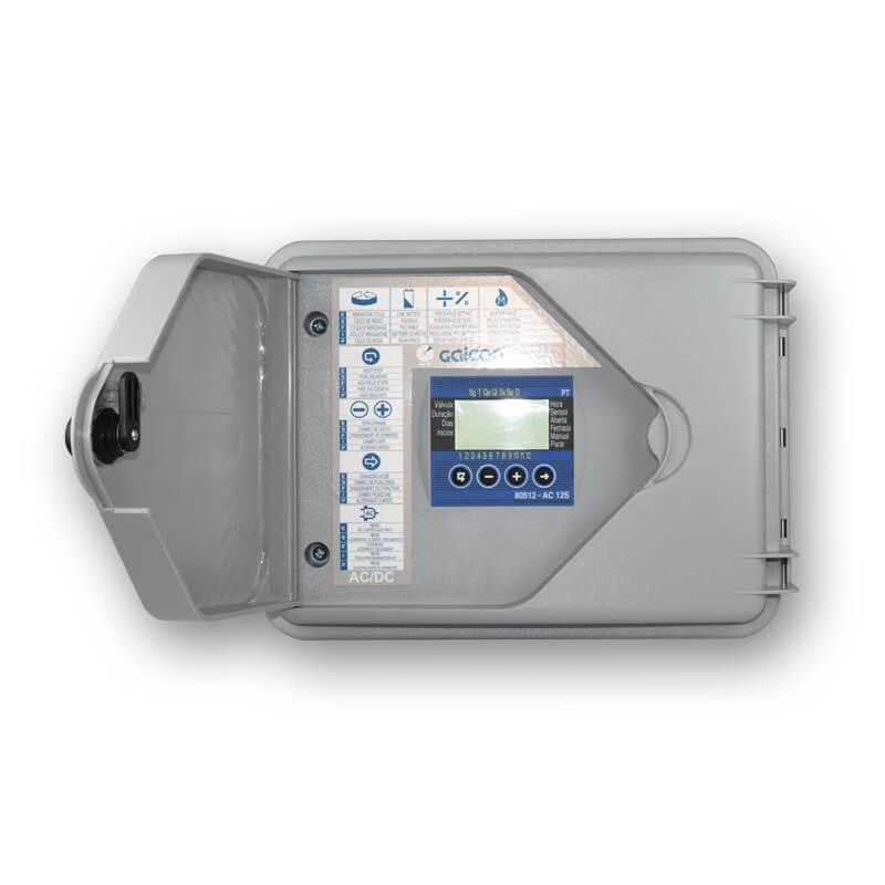 Controlador Galcon 12 estações AC-12S Super Box