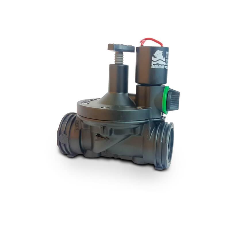 "Válvula Plástica Elétrica S-210 com fecho 1"" pol"