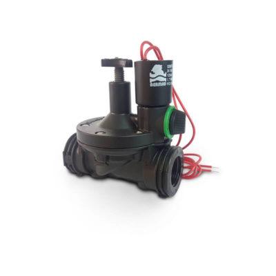 "Válvula Plástica Elétrica S-210 com fecho 3/4"" pol"