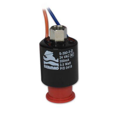 Solenoide S-390 3v, NC, 24VAC, sem base
